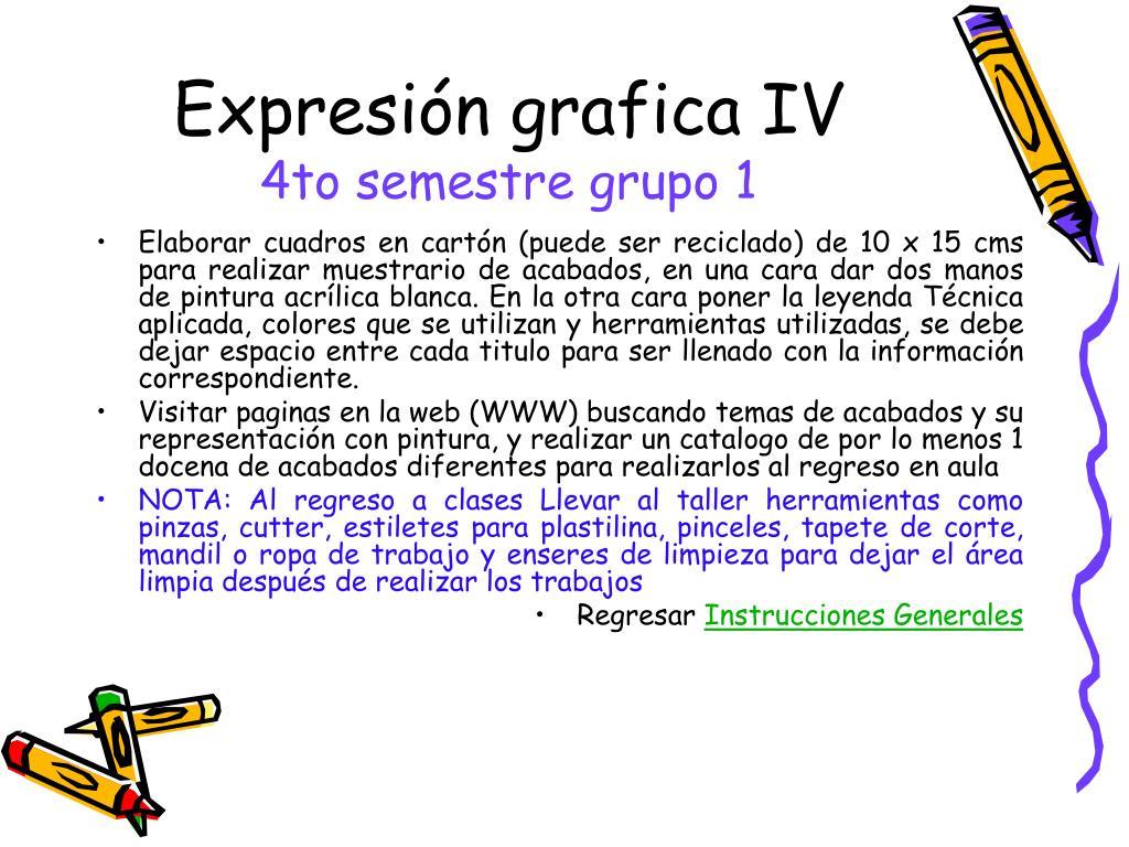 Expresión grafica IV