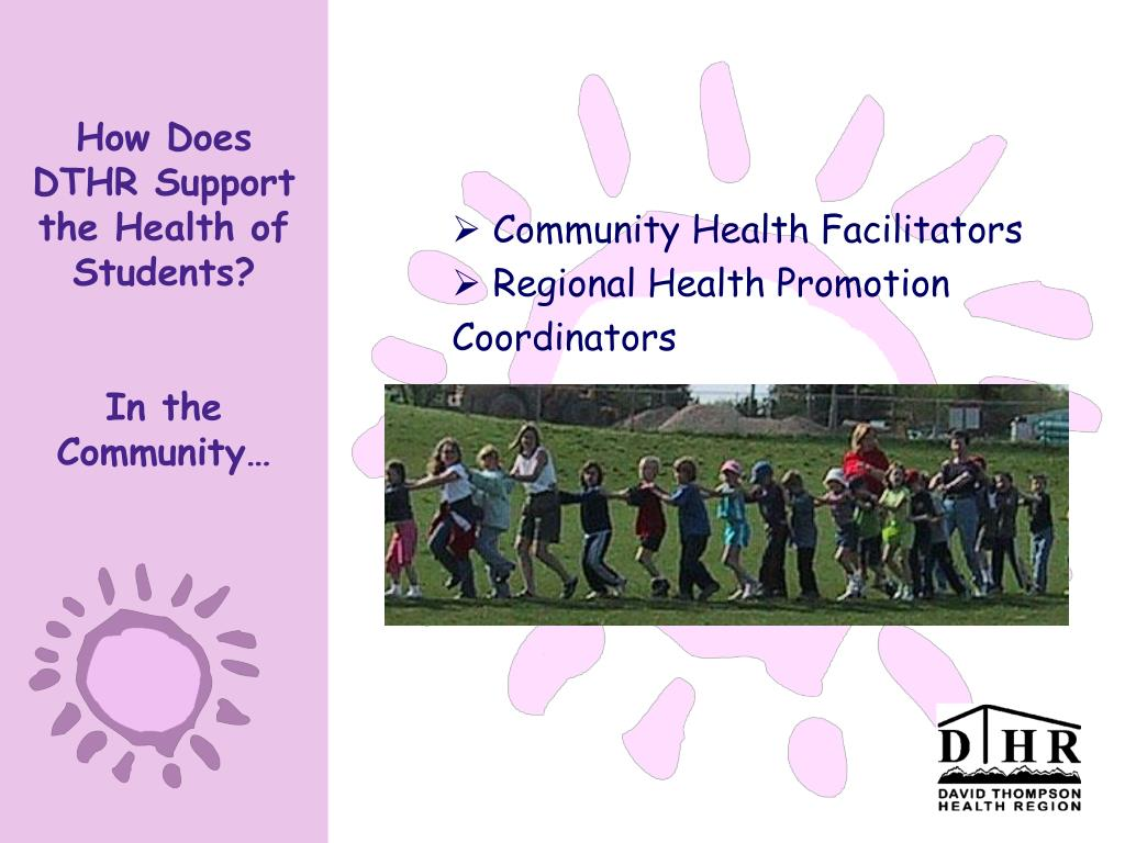 How Does DTHR Support the Health of Students?