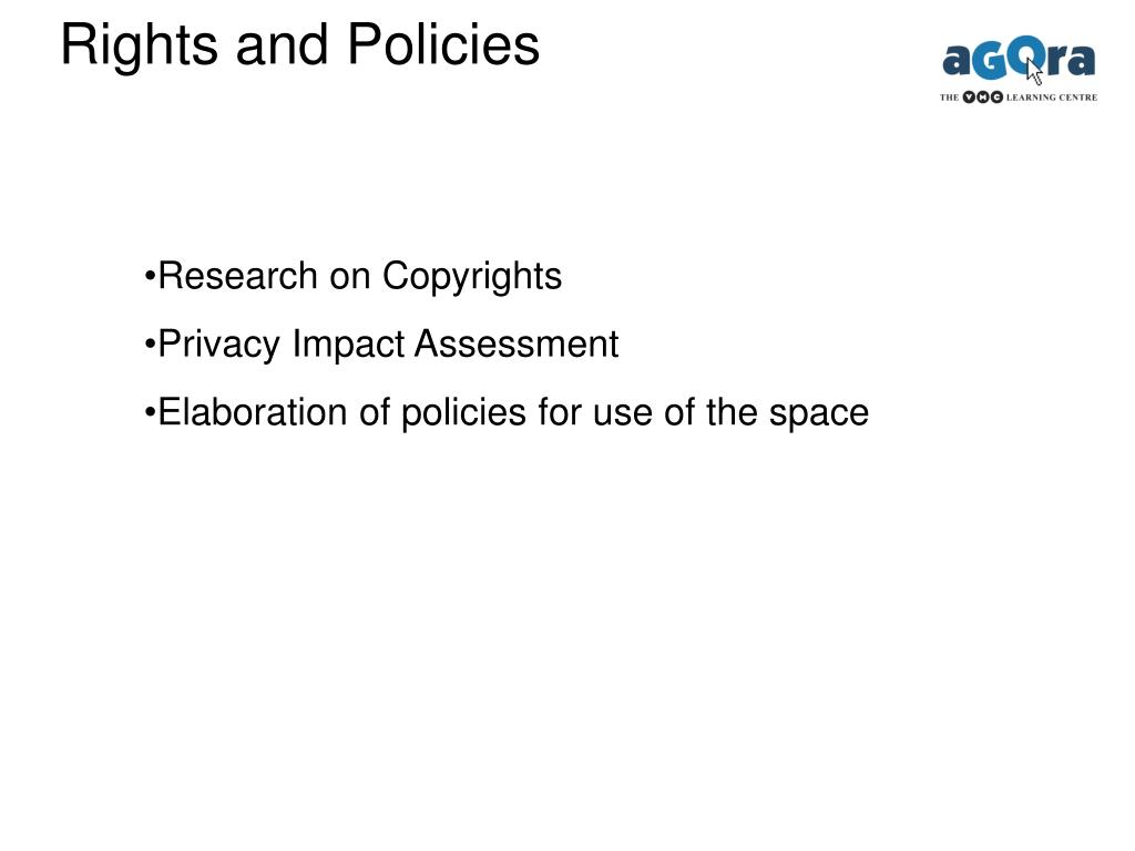 Rights and Policies