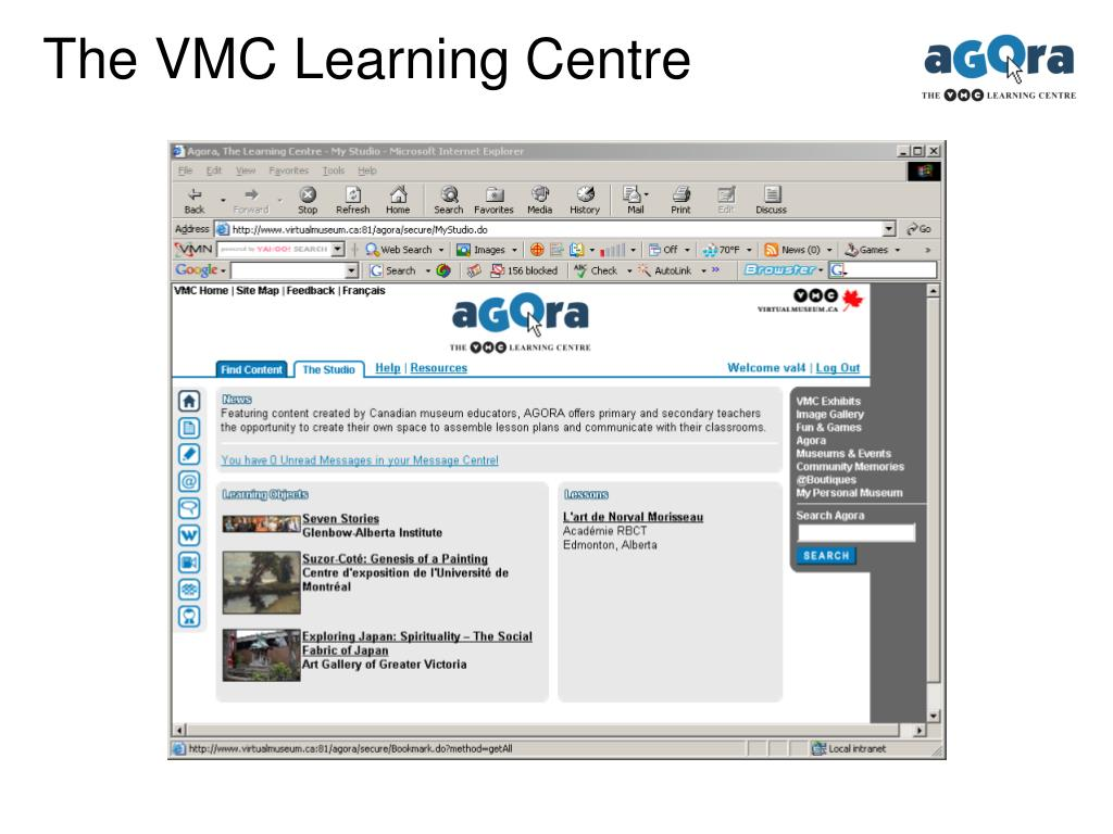 The VMC Learning Centre