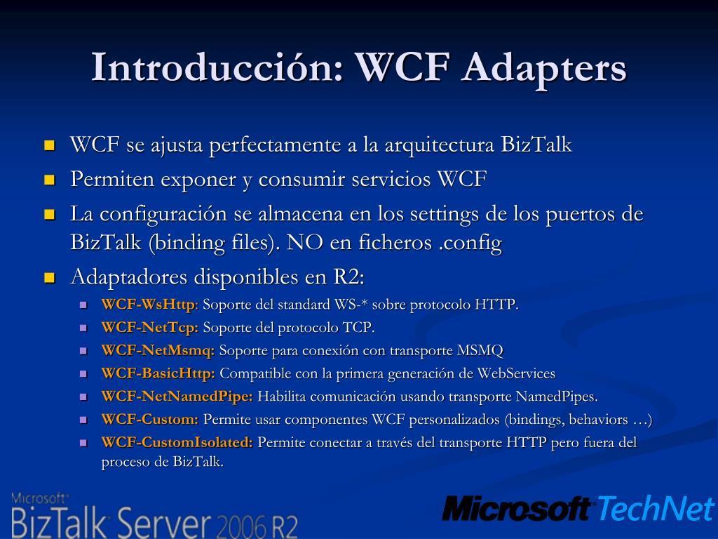 Introducción: WCF