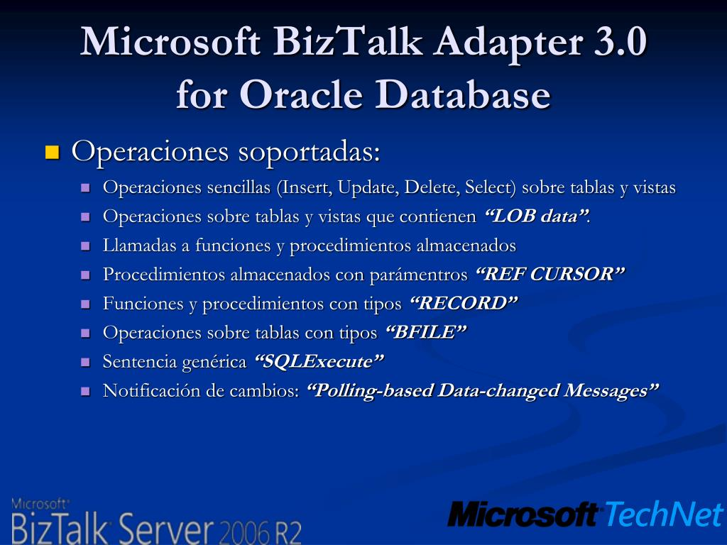 Microsoft BizTalk Adapter 3.0