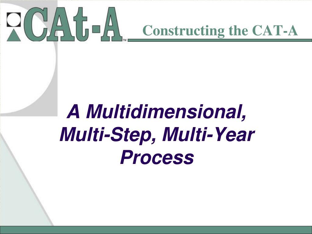 Constructing the CAT-A