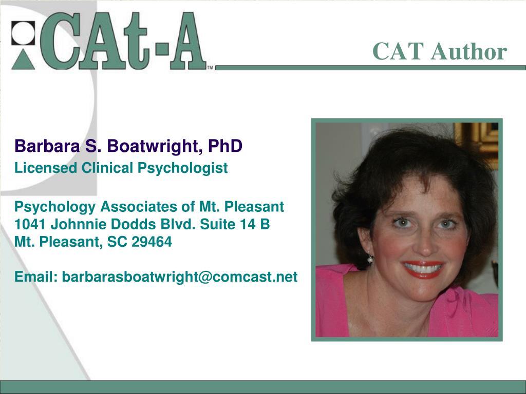 CAT Author