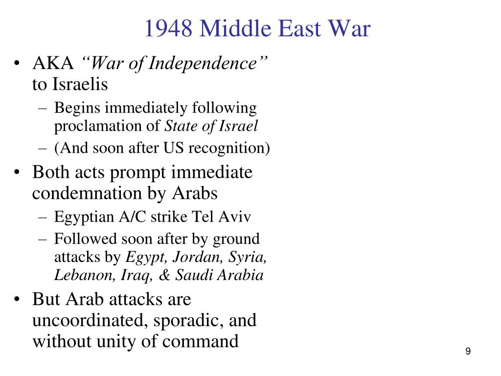 1948 Middle East War