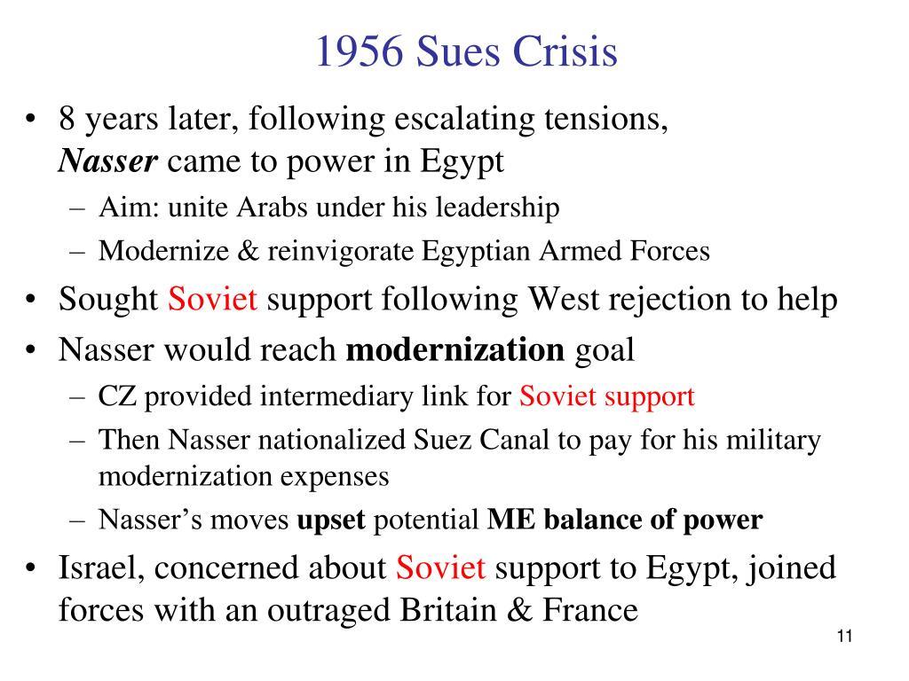 1956 Sues Crisis