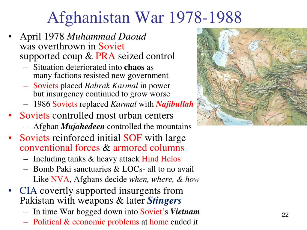 Afghanistan War 1978-1988