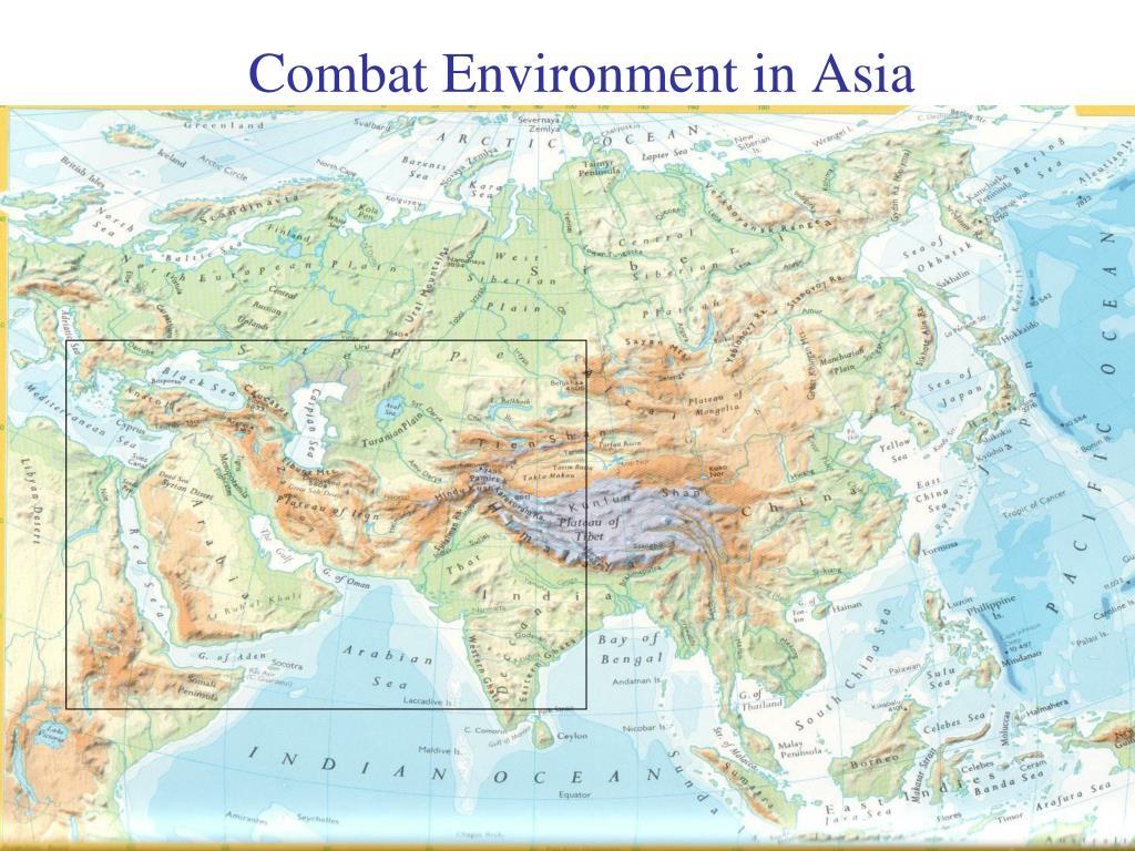 Combat Environment in Asia