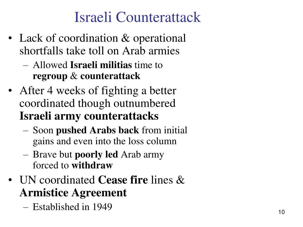 Israeli Counterattack