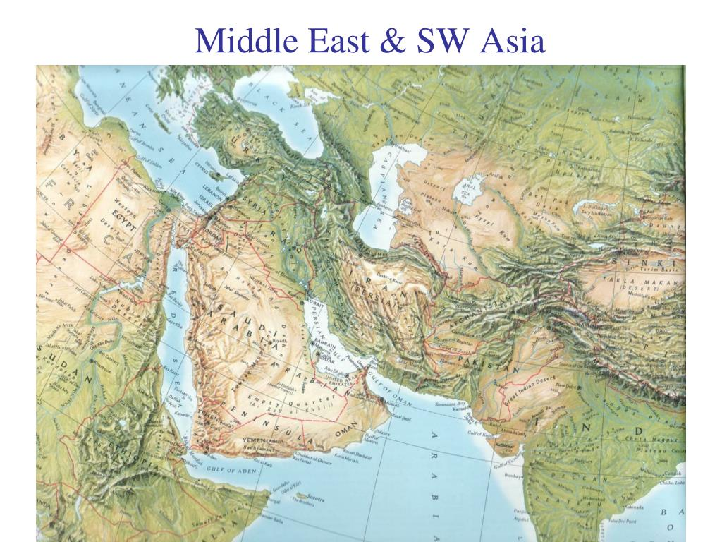 Middle East & SW Asia