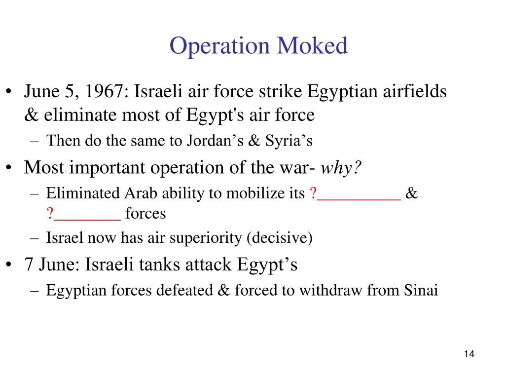 Operation Moked