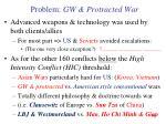 problem gw protracted war