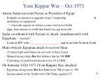yom kippur war oct 1973