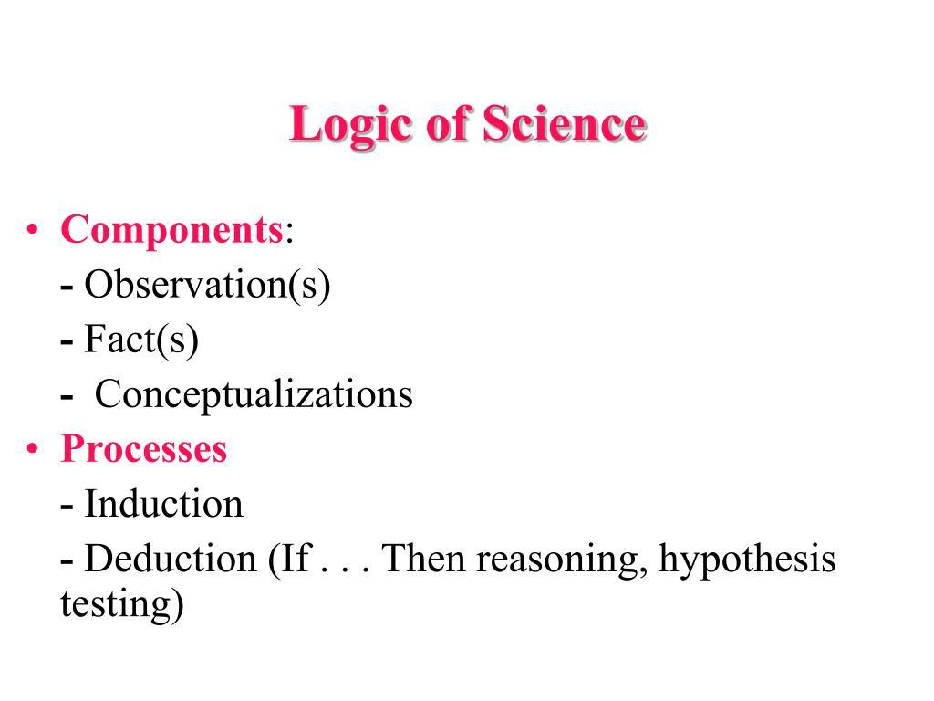 Logic of Science