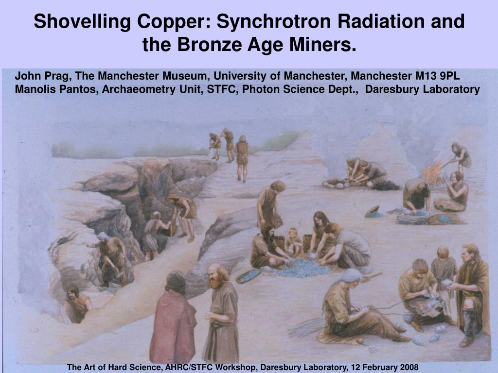 Shovelling Copper: Synchrotron Radiation and the Bronze Age Miners.