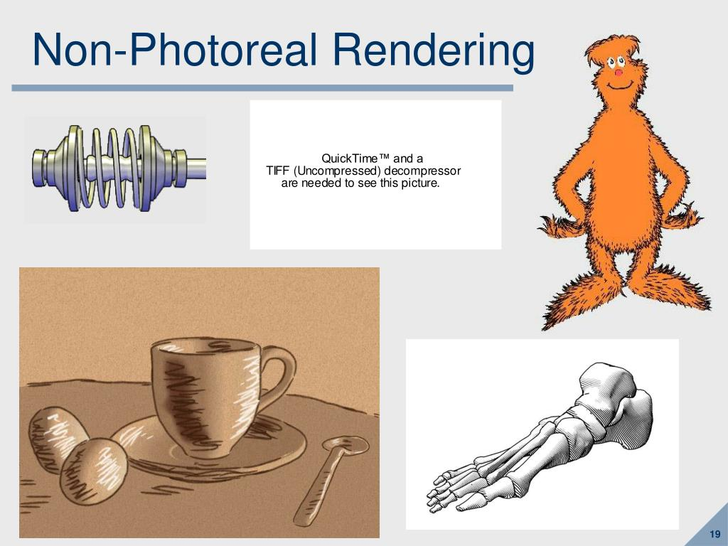 Non-Photoreal Rendering