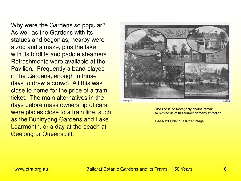 Why were the Gardens so popular?