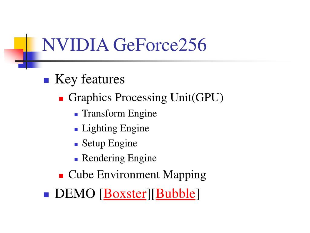 NVIDIA GeForce256