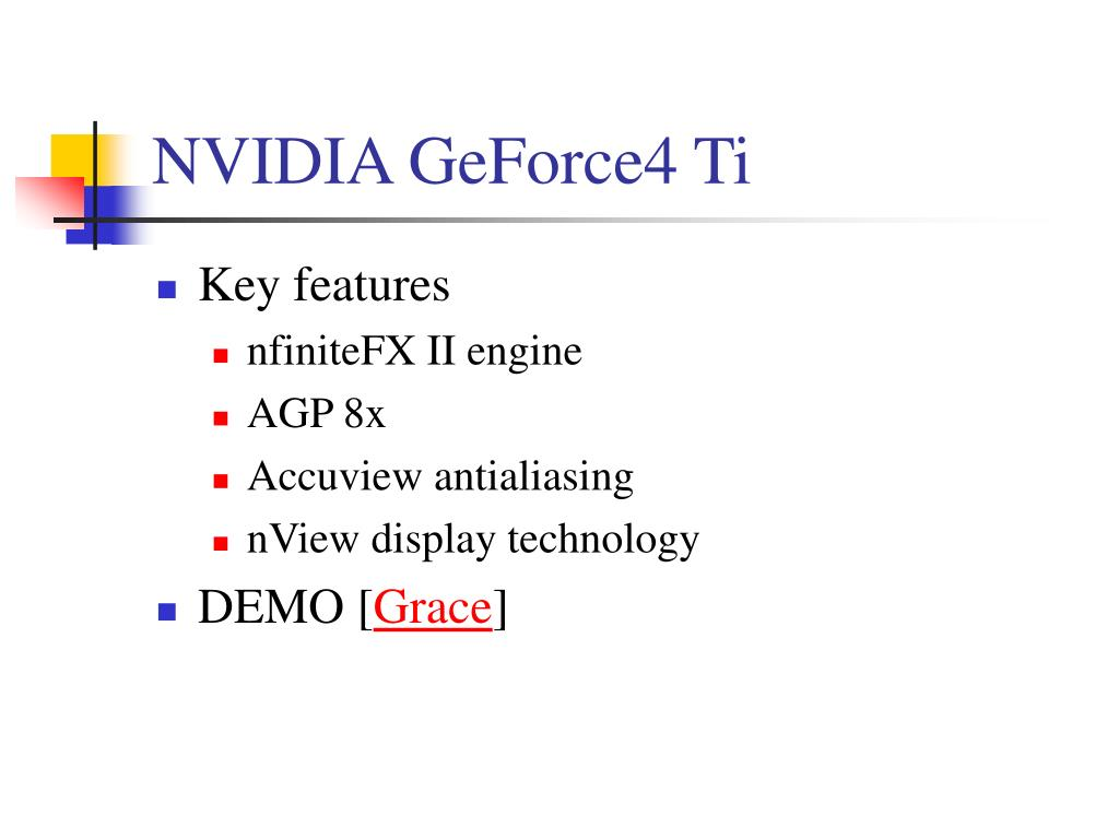 NVIDIA GeForce4 Ti