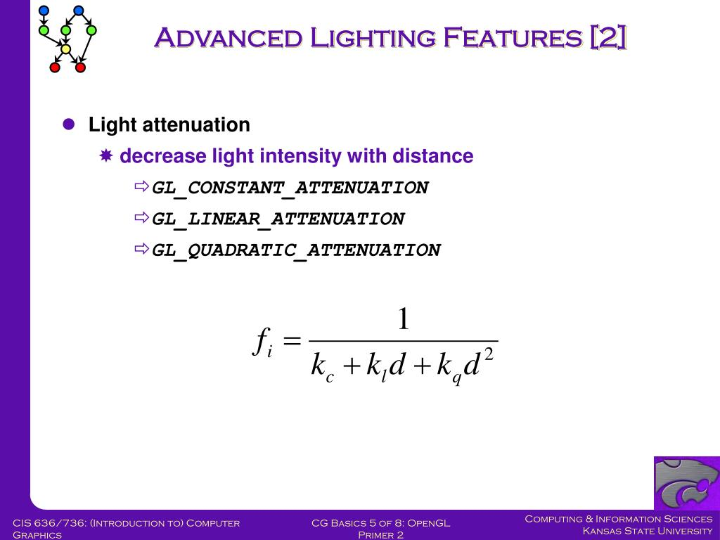 Advanced Lighting Features [2]
