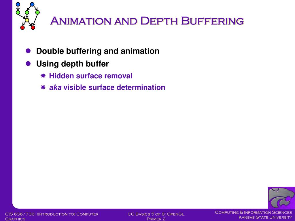 Animation and Depth Buffering
