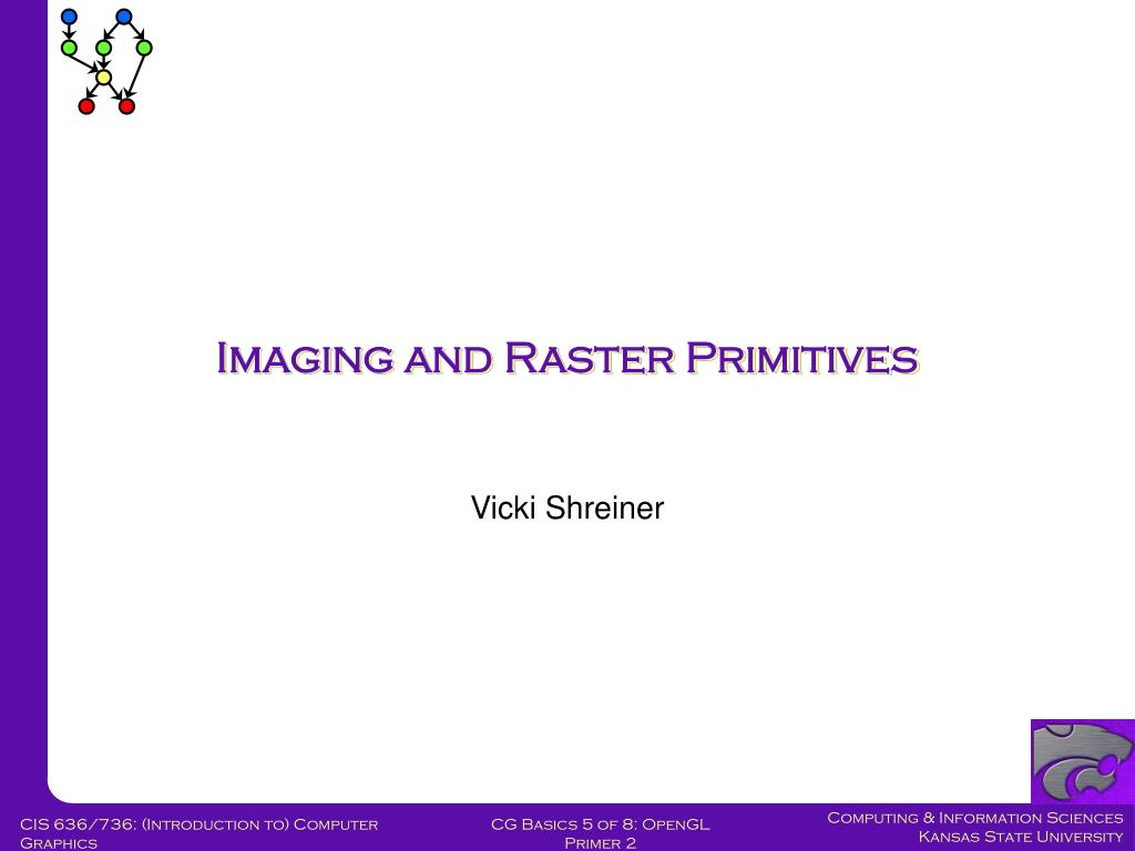 Imaging and Raster Primitives