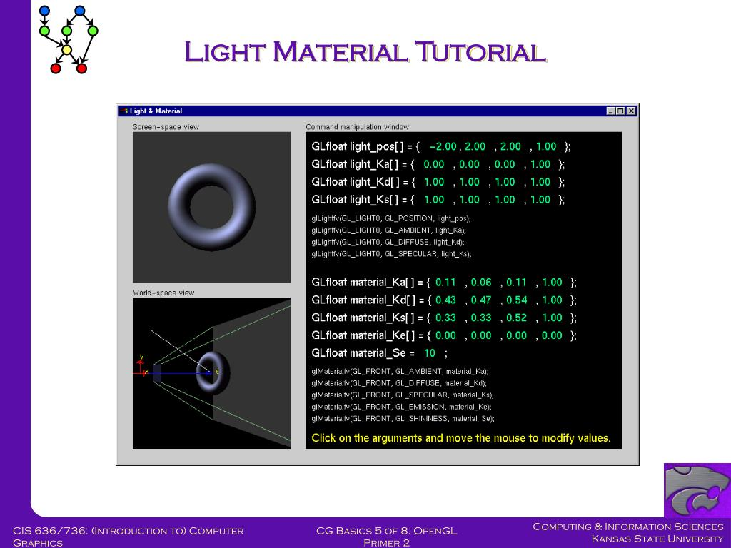 Light Material Tutorial