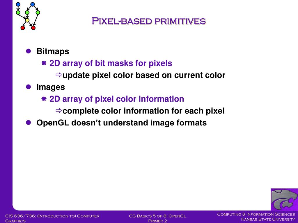 Pixel-based primitives