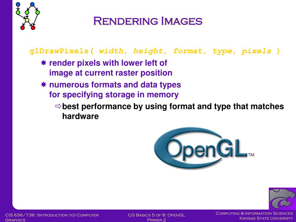 Rendering Images