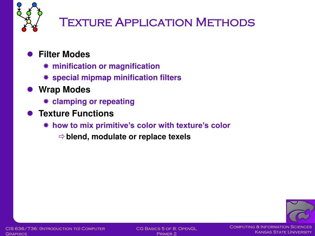 Texture Application Methods