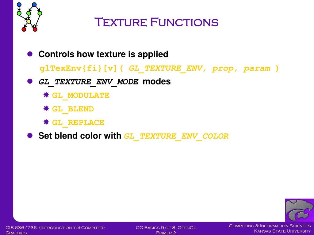 Texture Functions