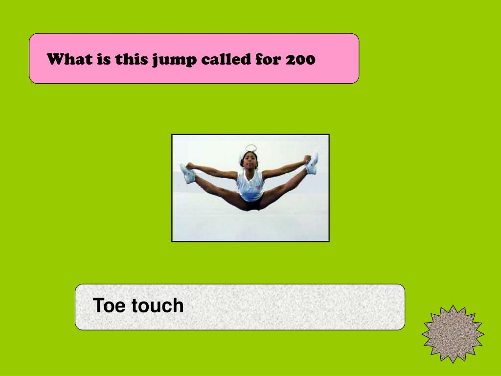 What is this jump called for 200