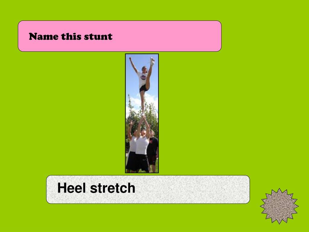 Name this stunt