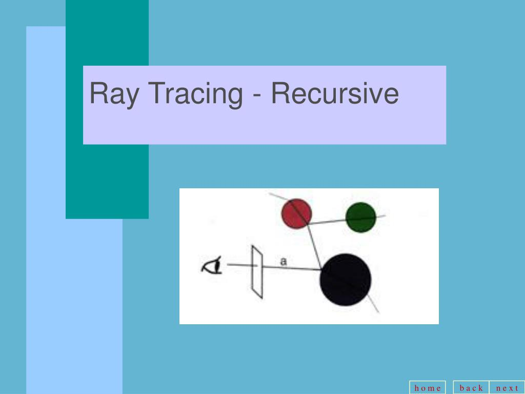Ray Tracing - Recursive