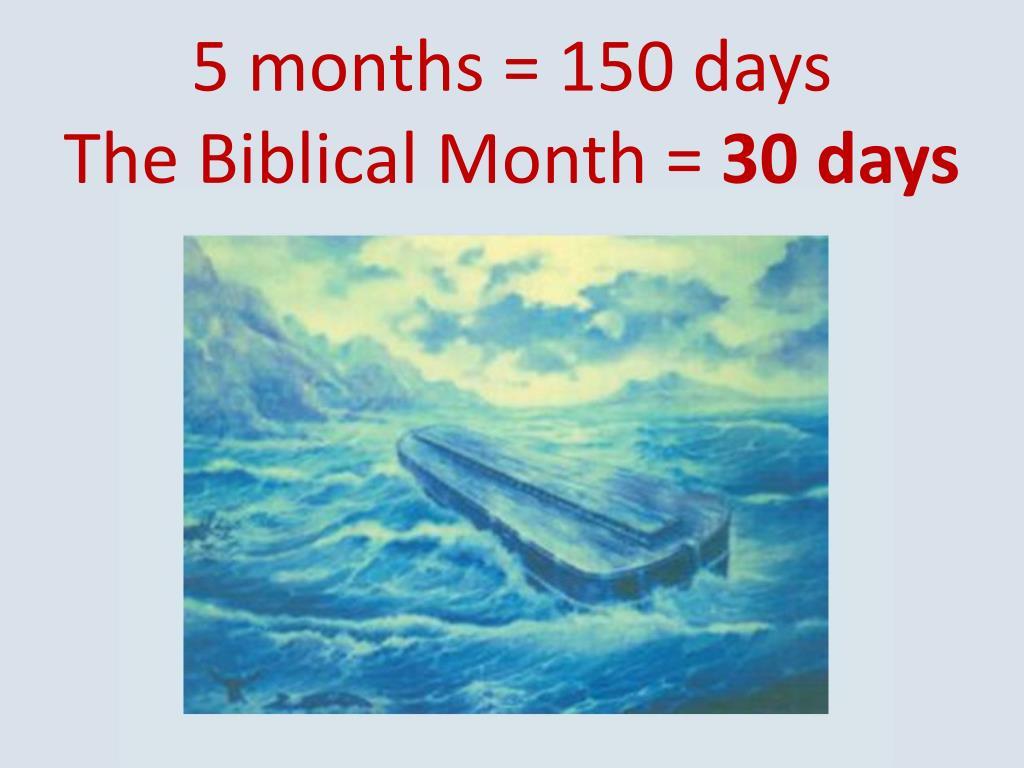 5 months = 150 days