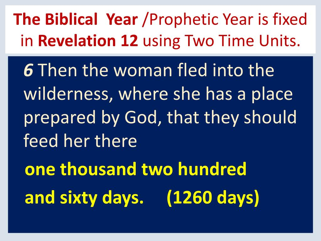 The Biblical  Year