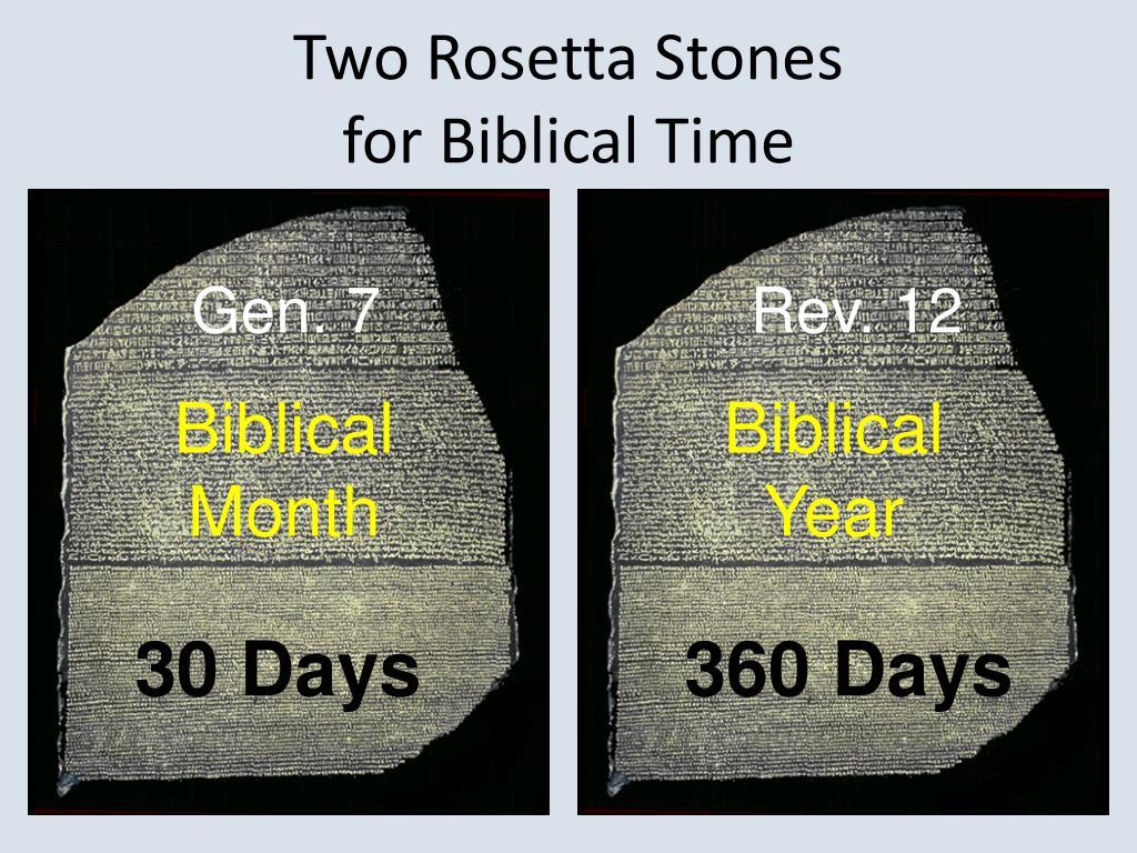 Two Rosetta Stones