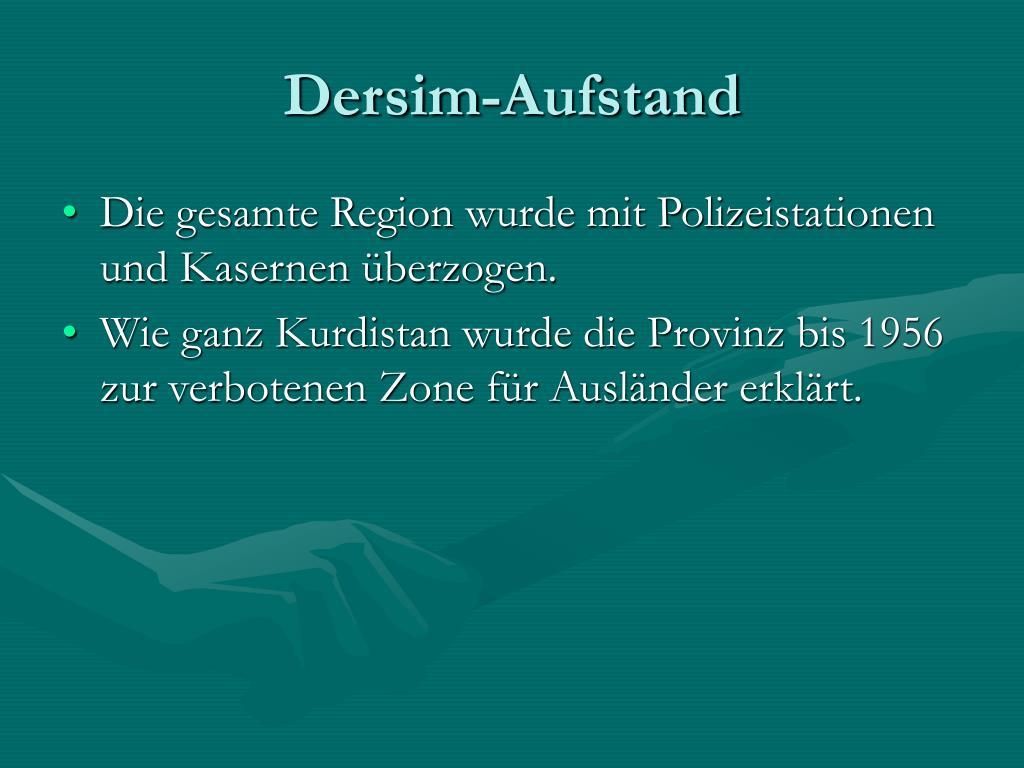 Dersim-Aufstand