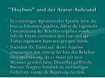 hoybun und der ararat aufstand28