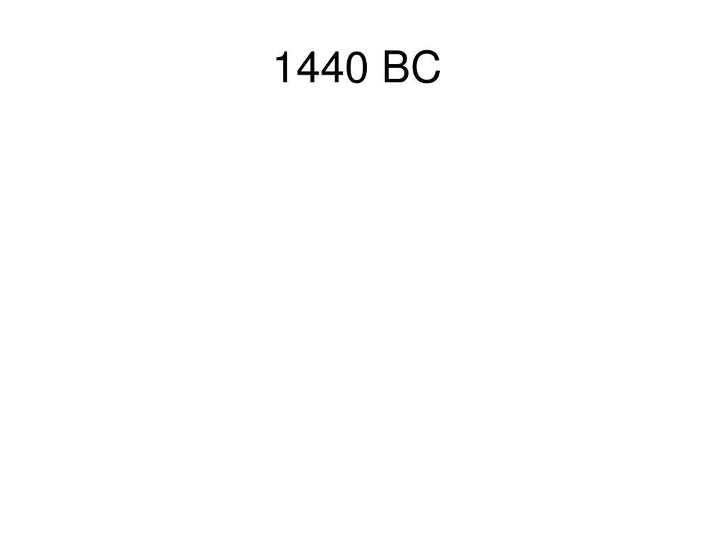 1440 BC