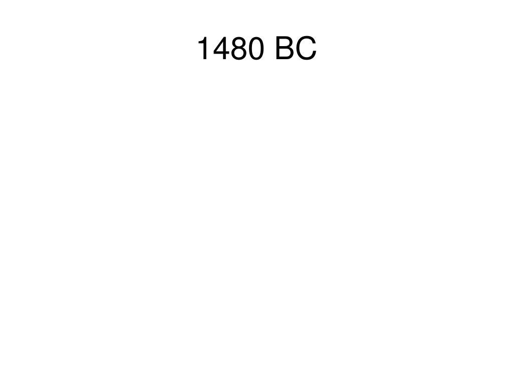 1480 BC