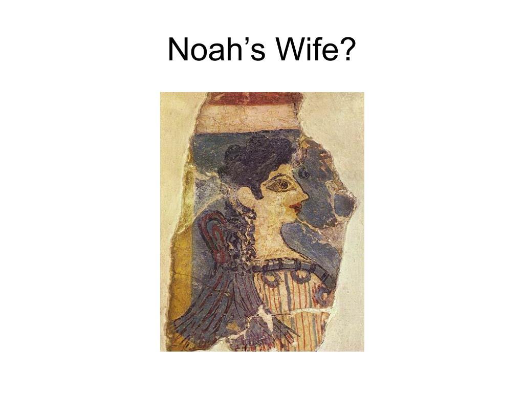 Noah's Wife?