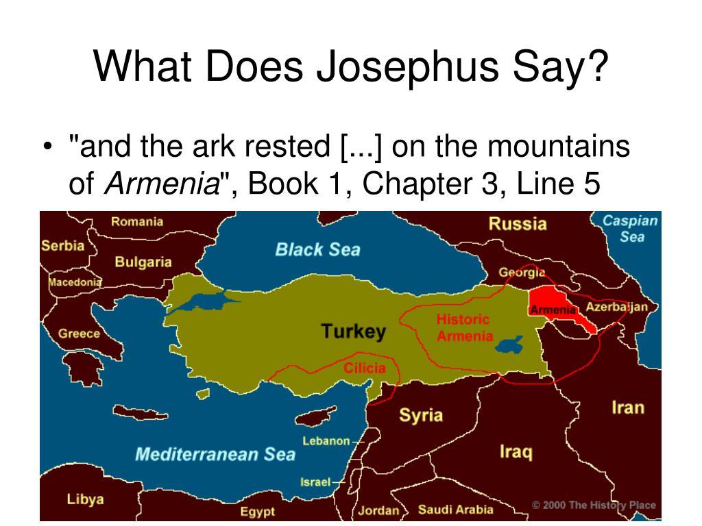 What Does Josephus Say?