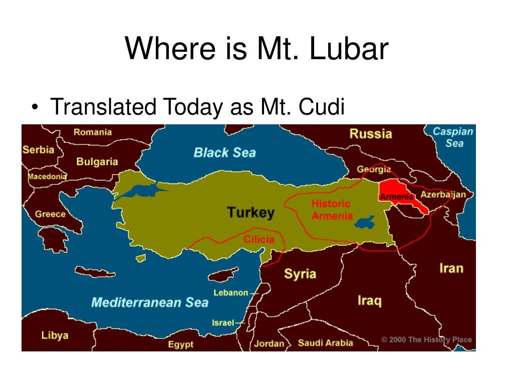Where is Mt. Lubar
