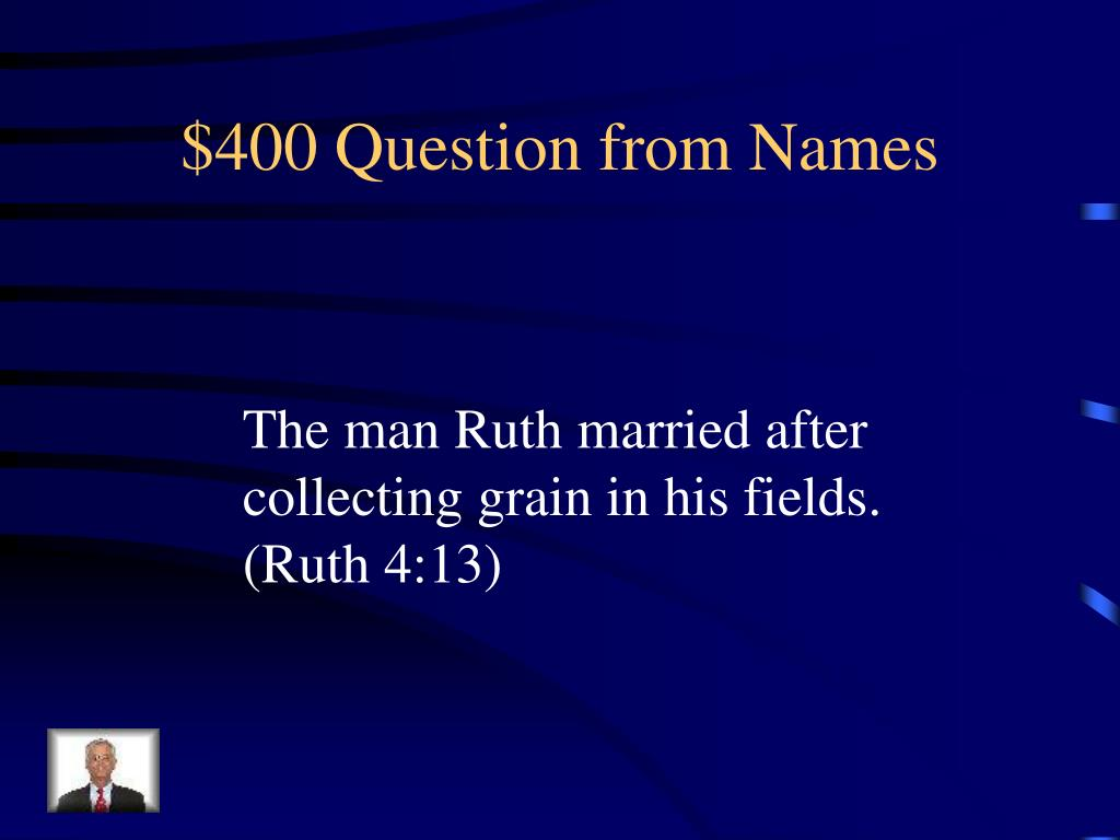 $400 Question from Names
