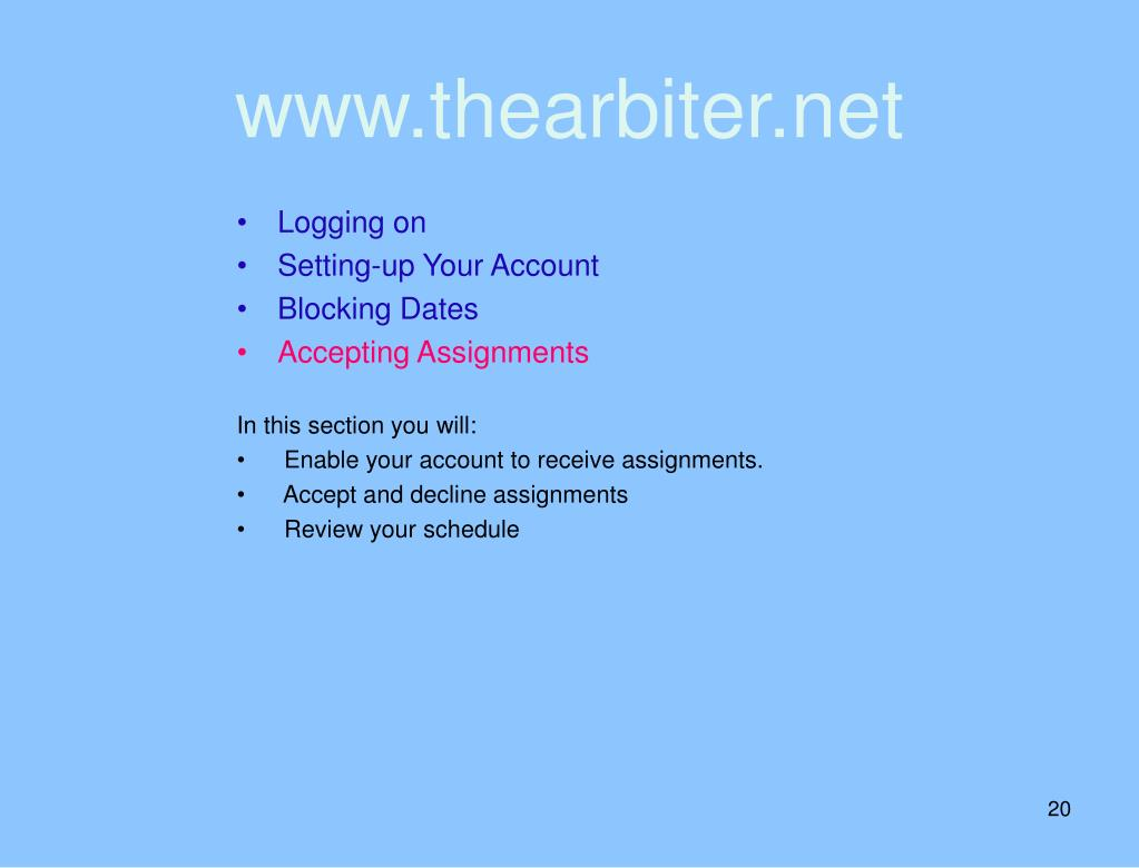 www.thearbiter.net
