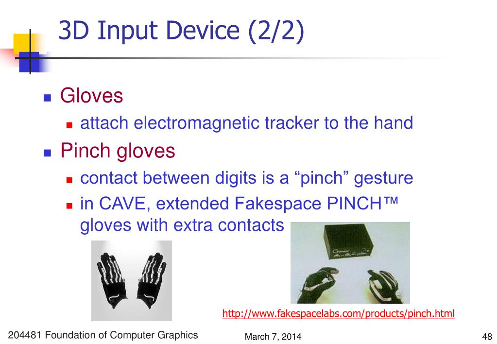 3D Input Device (2/2)