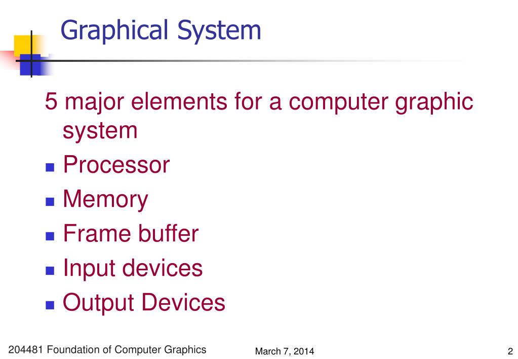 Graphical System