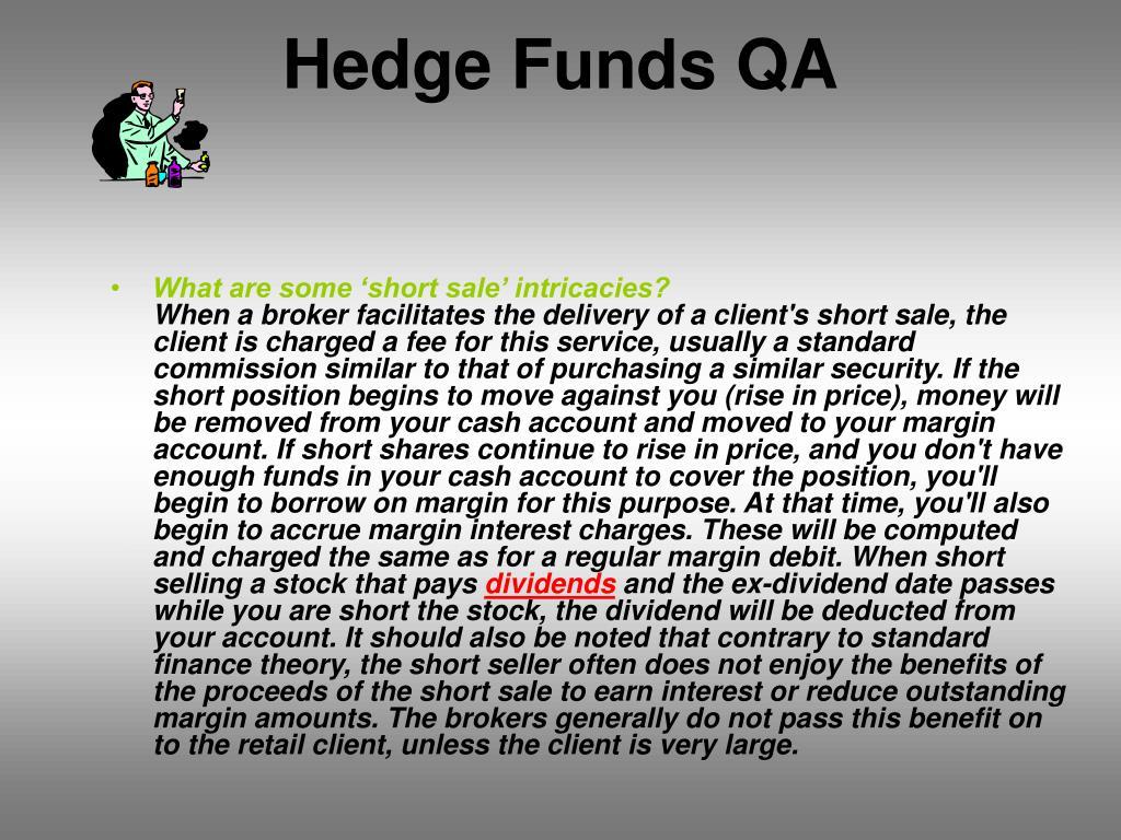Hedge Funds QA