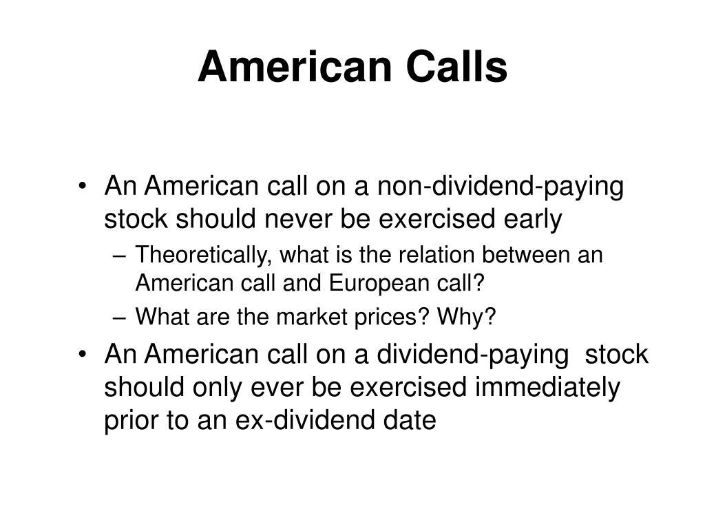 American Calls